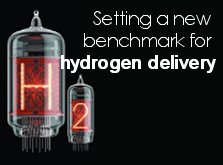 Setting a new benchmark for hydrogen delivery - Compound Semiconductor, January/February 2012 - Click here to visit Compound Semiconductor.