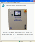 Click to Launch Power+Energy's PE9000MS Series Touch-Screen Interface Demo